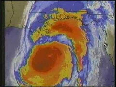 TWC Hurricane Opal coverage 1995: Clip 4 - YouTube