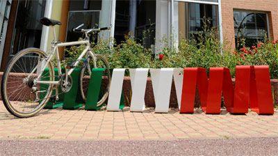 bench/bike rack Strip Ease, design Lana+Savettiere for Codal