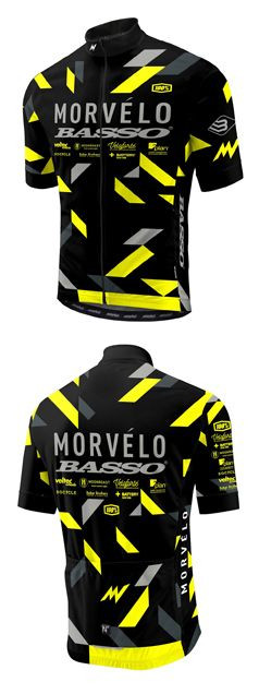 Morvélo Basso Team Jersey #cyclingjersey