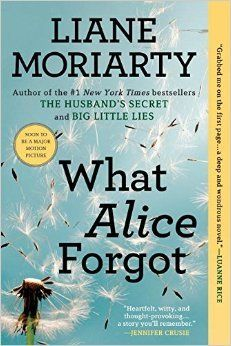 What Alice Forgot by Liane Moriarty. I really enjoy her writing and her storytelling. This was no exception. Reading it mostly on Valentine's Day draped in a feverish little boy was well-times to remind me to not take my loved ones for granted in all the flurry. What would my 10-year-younger self think of me today...? Does that matter? What a great thought exercise.