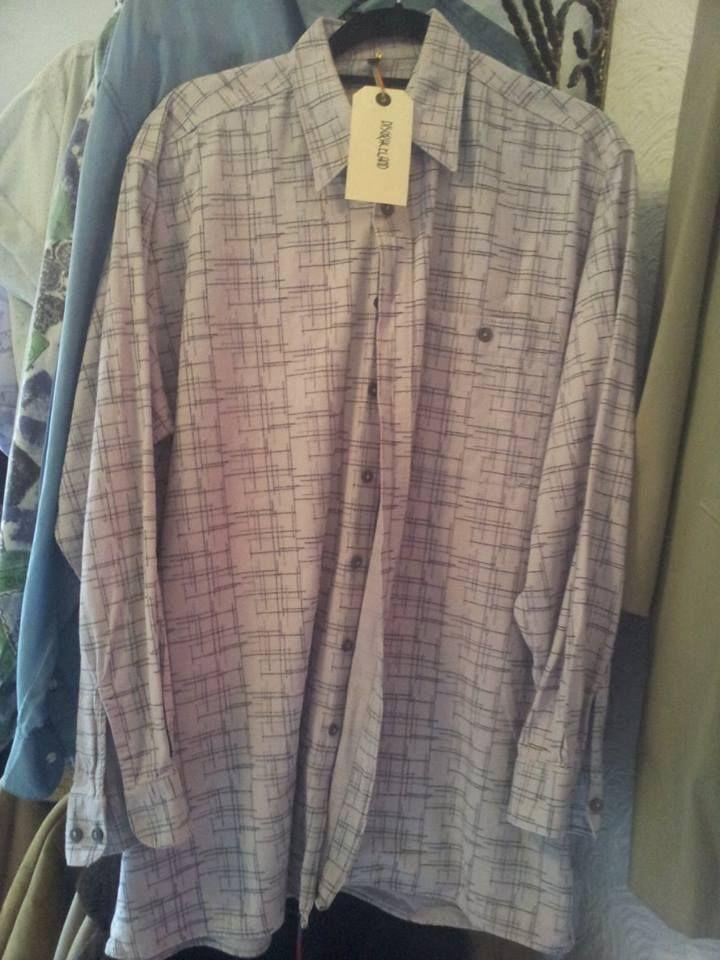 funky oversized vintage shirt £15