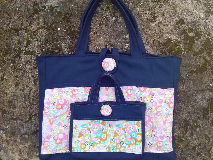 twin tote bag