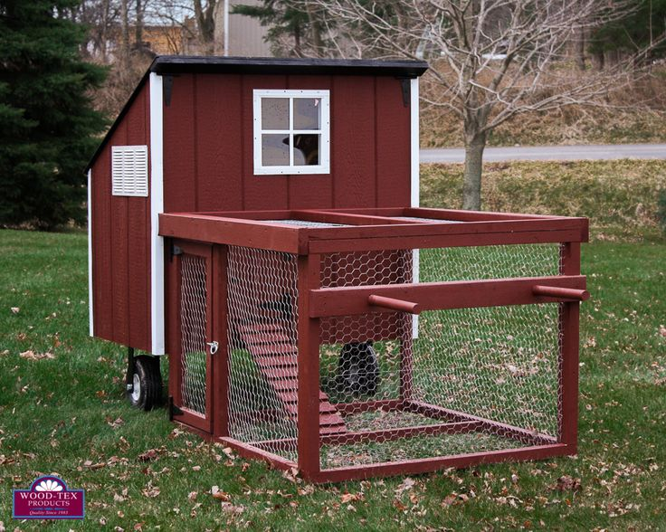Chicken Tractor Contest WoodTex Products Chicken coop