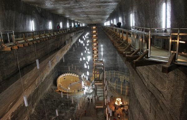 Natural wonders - Turda Salt Mine Romania 5