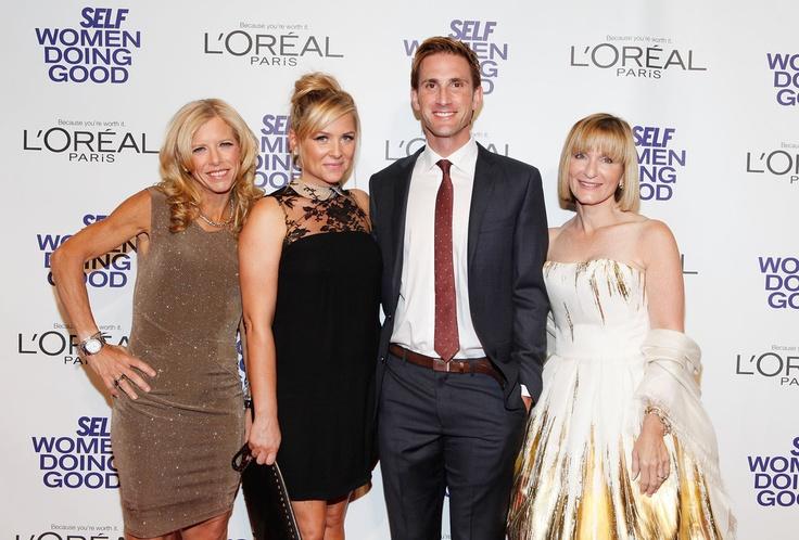Lucy Danziger, Jessica Capshaw, Christopher Gavigan e Laura McEwen dia 12/09/2012