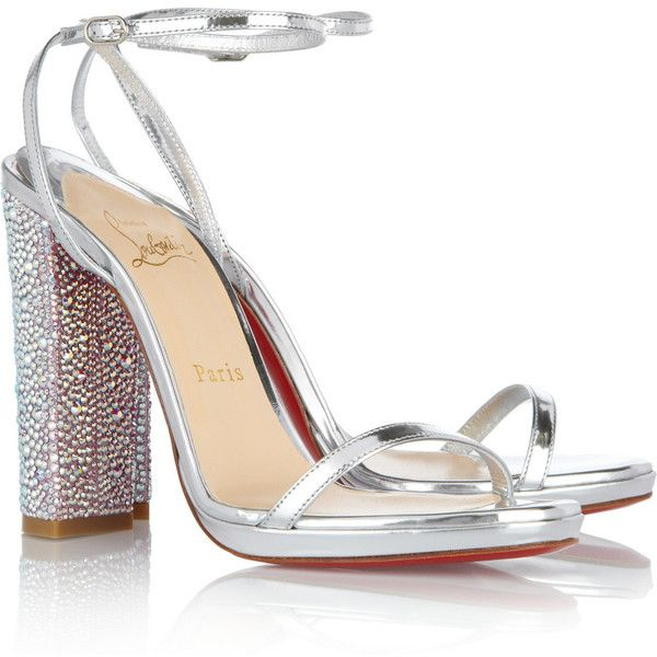 Shop for Au Palace 120 Swarovski crystal-embellished sandals by Christian  Louboutin at ShopStyle.
