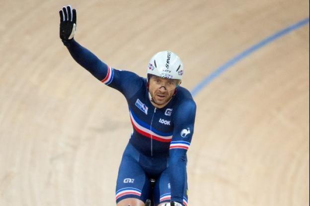 François Pervis a décroché son quatrième titre de champion du monde du kilomètre, dimanche à Hong Kong..