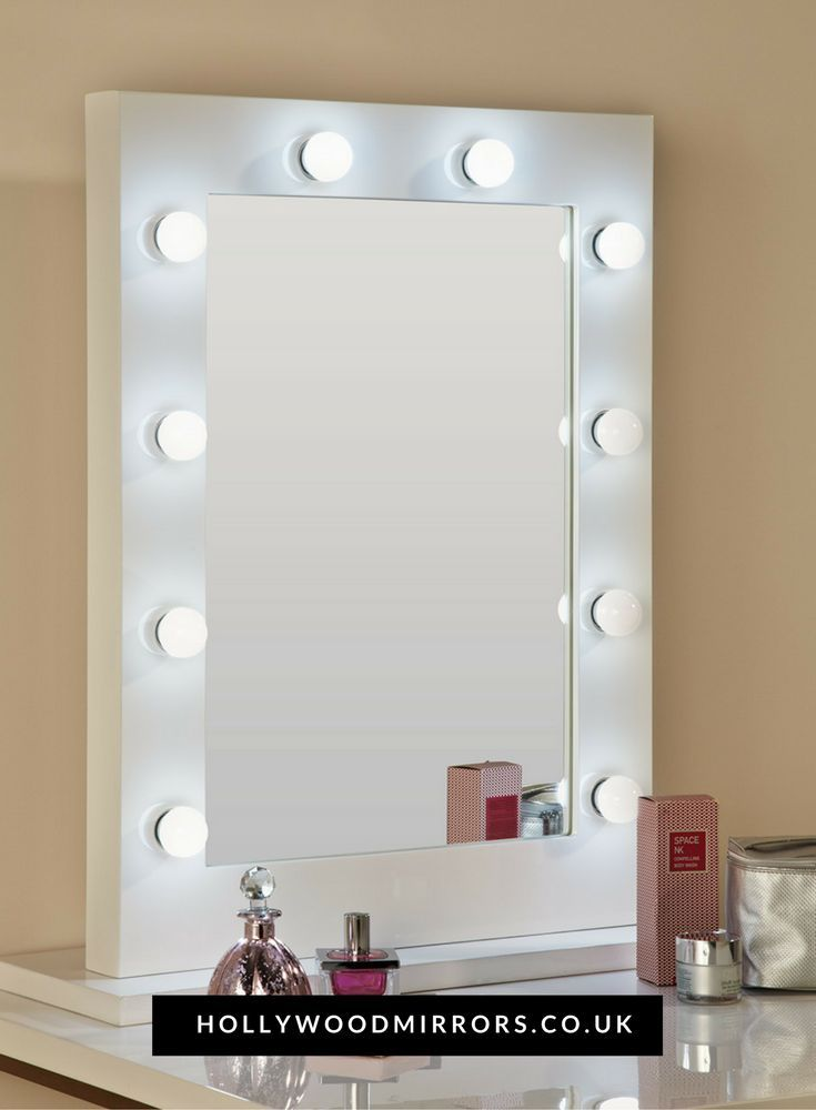 Bathroom Lighting Best For Makeup best 25+ mirror with light bulbs ideas on pinterest | vanity with