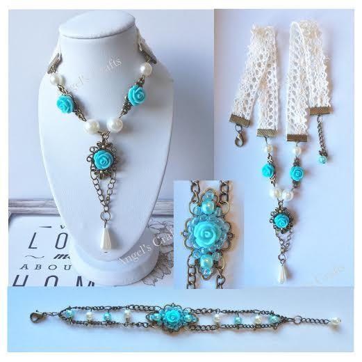 Bridal jewellery, Bridesmaid gift, Brides gift, Pearl jewellery, Bracelet, Neckl…