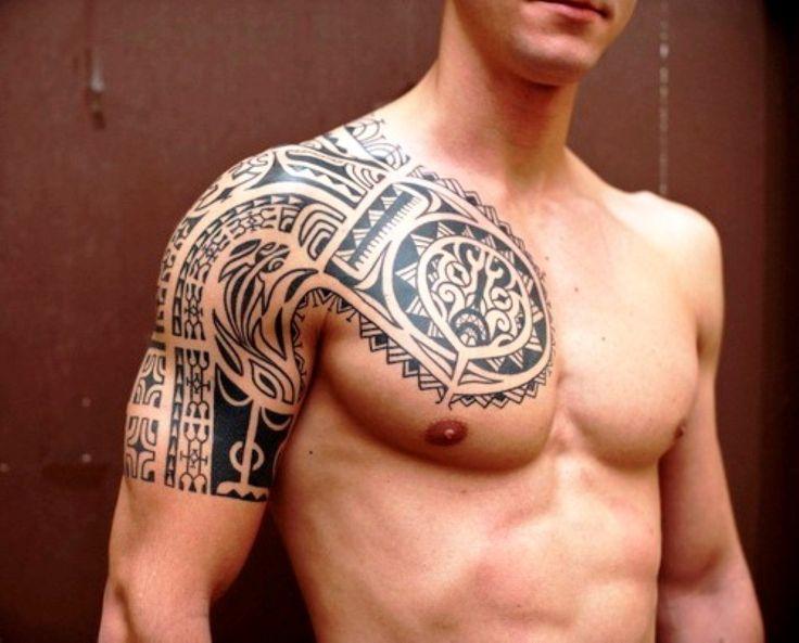 Tattoos for men half sleevecool half sleeve tattoos for for Mens tattoos pinterest