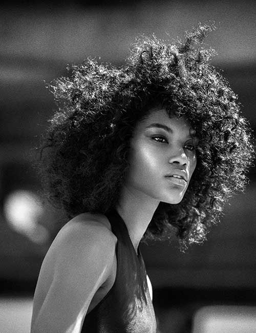 Swell 1000 Ideas About Short Curly Afro On Pinterest Curly Afro Afro Short Hairstyles Gunalazisus