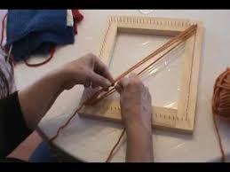 Resultado de imagen para chalecos largos tejidos en telar cuadrado
