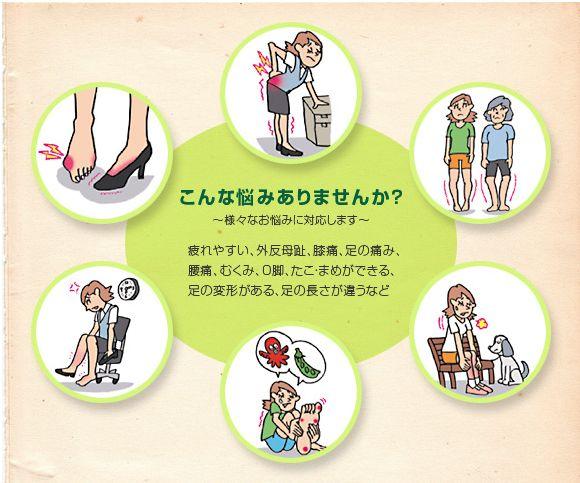 靴とインソールの専門店のBloque http://www.bloque.co.jp/sta24921/index.html