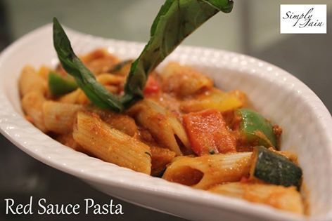 Red Sauce Pasta The perfect way to make this Italian dish.