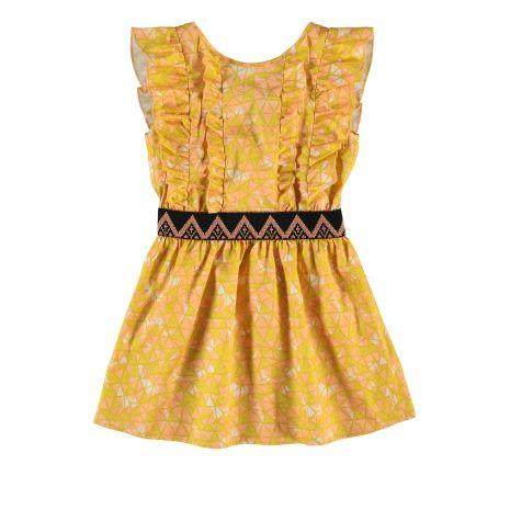 FATMA gele jurk Fred & Ginger