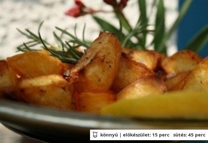 Rozmaringos tepsis sültkrumpli