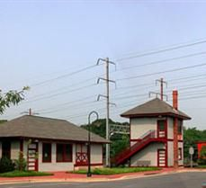 Located in historic Old Bowie, the station was relocated from its original site across the railroad tracks and restored in the 1990's. The Baltimore and Potomac Railroad Company built the first station in 1872 at the junction of rail lines into Washi