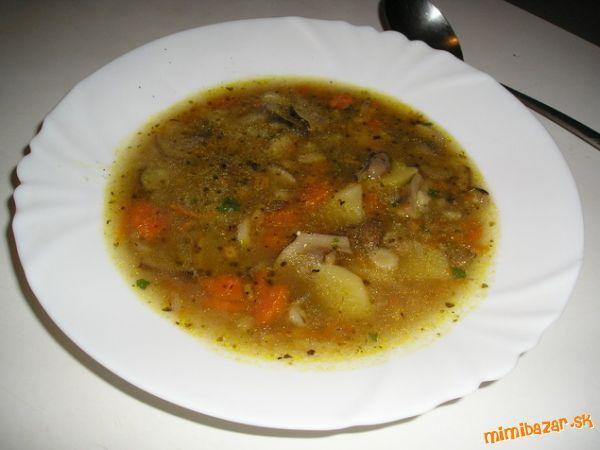 ♥ Voňavá hríbovo šampiňónová polievka ♥