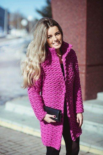 Crochet Patterns to Try: Free Crochet Patterns For 3 Winter Coats - Easy Crochet Winter Coat Ideeas ༺✿ƬⱤღ✿༻
