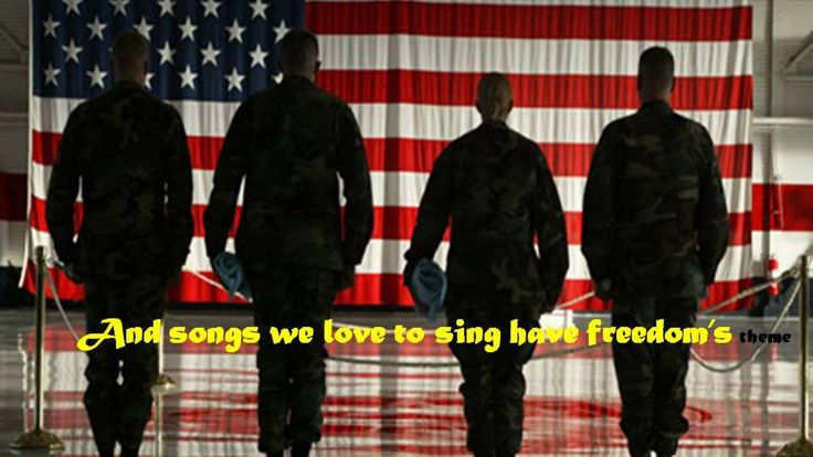 Let freedom Ring lyrics and images