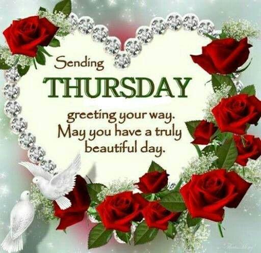 125 best thursday blessings images on pinterest morning blessings thursday greetings m4hsunfo