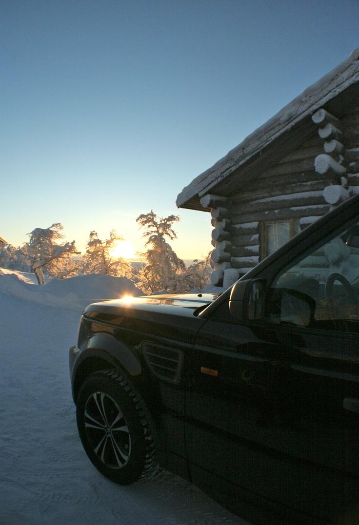 #LuxuryChalet in #wilderness #Lapland #LuxuryAction