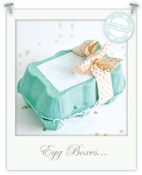 Pretty Easter Egg boxes  From Torie Jayne