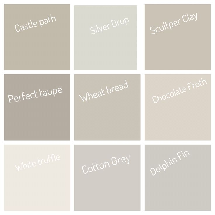 Neutral Colors From Behr Color Pallets In 2019 Paint