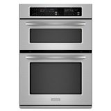 KitchenAid Architect Series II KEMS308SSS 30 Microwave Combination Wall Oven, Convection, Self Cln  #Best seller