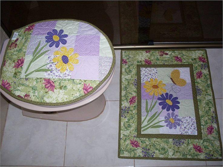 Jogo de banheiro flower