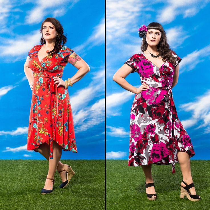 Bella Fiora Wrap Dress - Birdlife & Temptress Rose. $305 (12 / 14-18) BUY NOW http://sprinkleemporium.bigcartel.com/product/bella-fiora-wrap-dress-2017