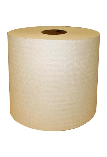 North River, 700' Ivory Roll paper Towell: 6 rolls of 700', ivory, Roll paper towell