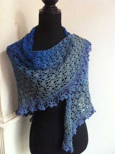 Limited by gehaakte sjaal