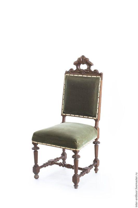 Мебель ручной работы. Мягкий стул в стиле раннего немецкого барокко. 8ВТ0369. InterAntikvar. Интернет-магазин Ярмарка Мастеров.