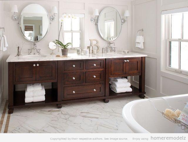 double bathroom vanities az house pinterest