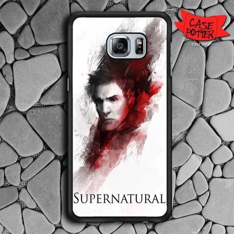 Supernatural Art Samsung Galaxy S6 Edge Black Case