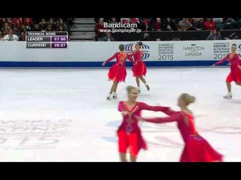 Rockettes(Finland2) FS 15 World Synchronized Skating