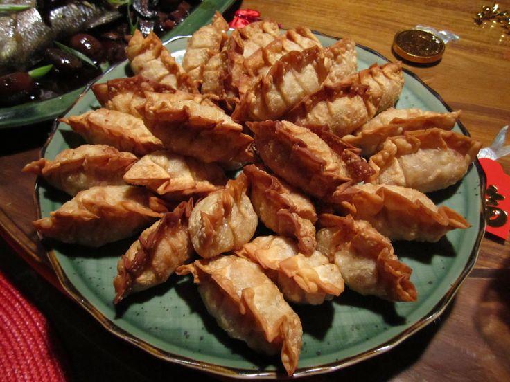 Golden Pork and Prawn Dumplings