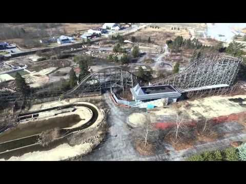 New Drone Flyover at Abandoned Geauga Lake Amusement Park is Depressing | Scene and Heard: Scene's News Blog | Cleveland Scene