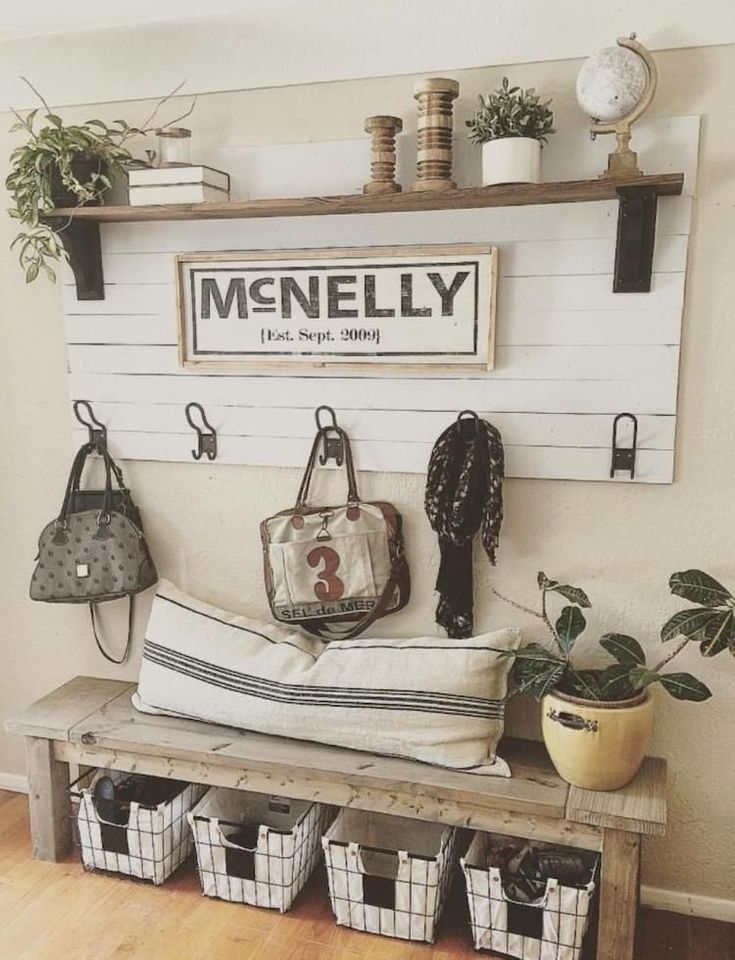 Fabulous rustic entryway decorating ideas me gusta for Idea de muebles quedarse