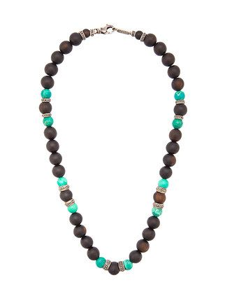 Roman Paul beaded necklace