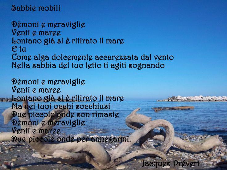 Jacques Prévert  - sabbie mobili -poesia