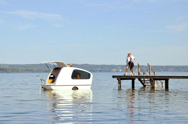 diaforetiko.gr : Ξεχάστε το κάμπινγκ που ξέρατε! ..Αυτή είναι η χλιδάτη εκδοχή του για στεριά και… θάλασσα!