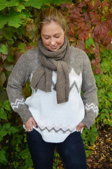 genser fra  Alpaca Society, får bl.a. hos Daisy