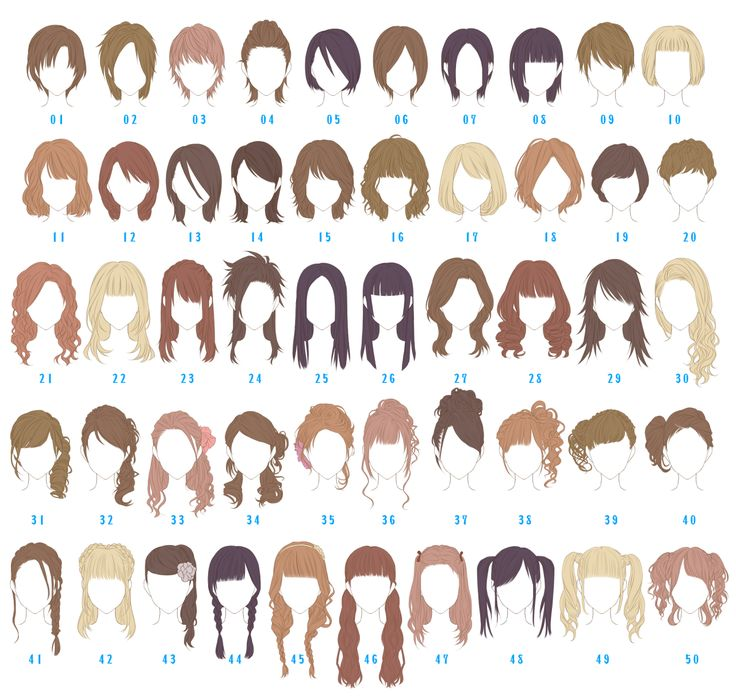 which one is your hairstyle? - Imgur