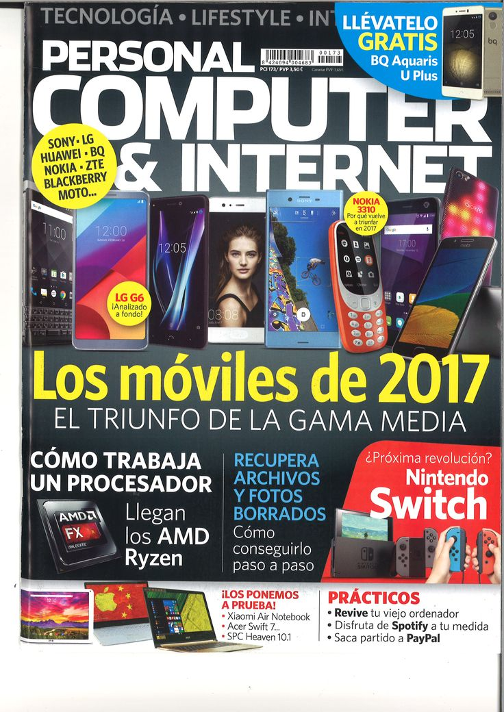 Personal Computer & Internet. Nº 173, marzo 2017