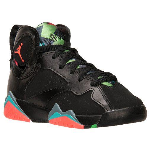 Boys' Grade School Air Jordan Retro 7 30th Basketball Shoes - 705412 007 |  Finish