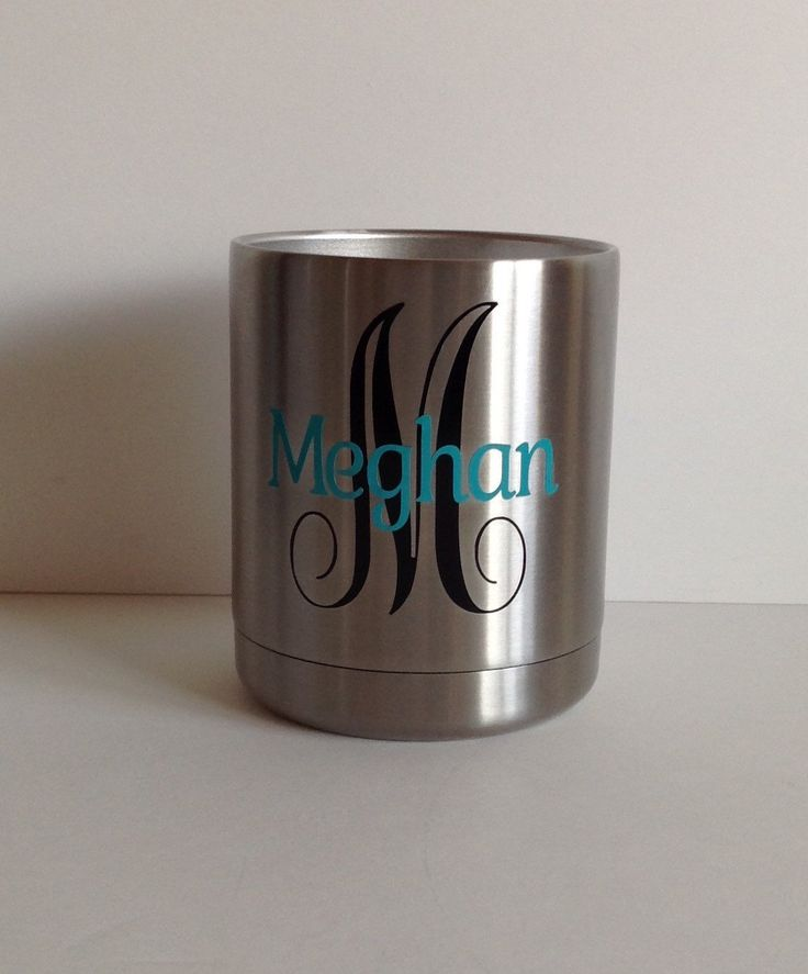 Personalized YETI Rambler 10oz Lowball by Meraki Designs on Etsy