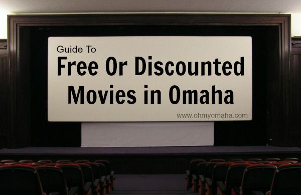 Handy guide to saving money on movie tickets in Omaha - When the discount days are, when students get in free, etc.
