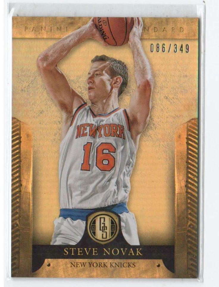 2012-13 Gold Standard Steve Novak /349 New York Knicks #NewYorkKnicks